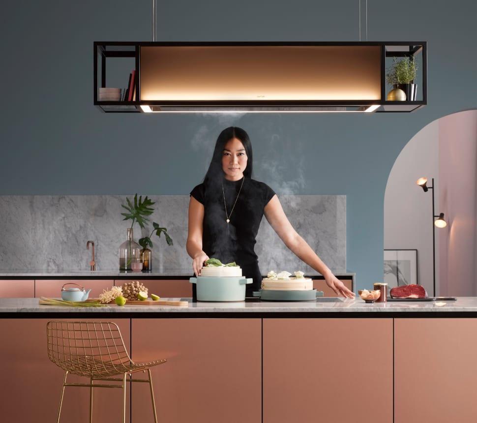 Berbel Rosegoldene Küche