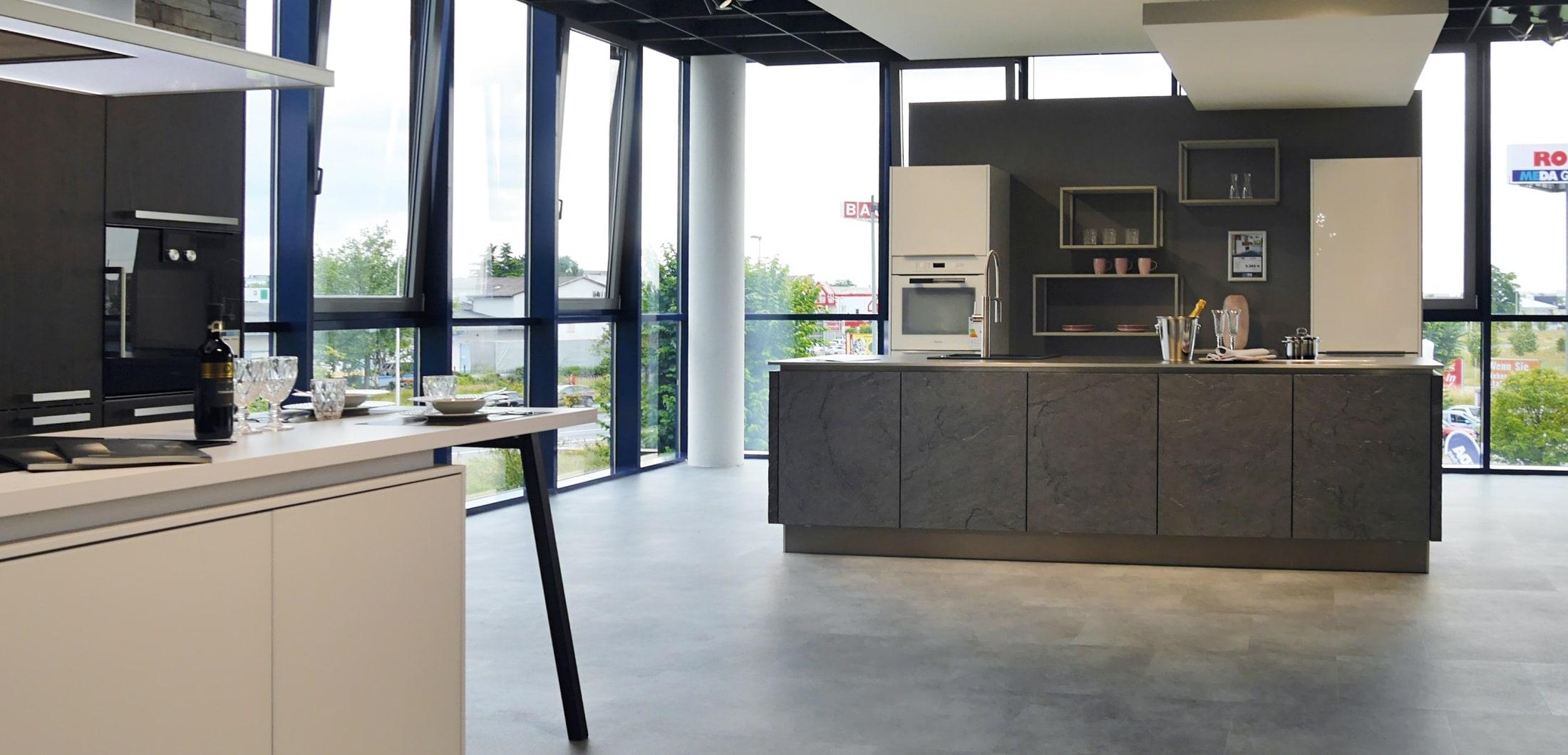 Küchenausstellung im Küchenstudio Darmstadt