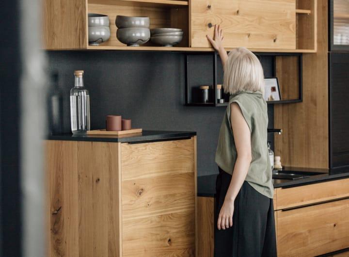 Echtholzküche