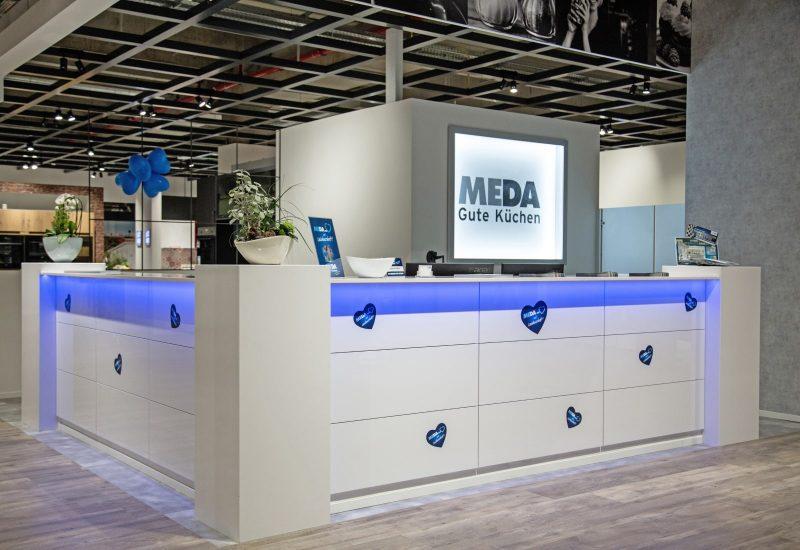 Empfang im MEDA Küchenstudio Berlin