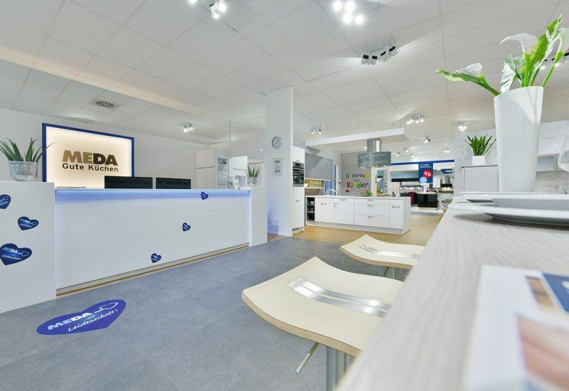 Empfangsbereich im Küchenstudio Essen