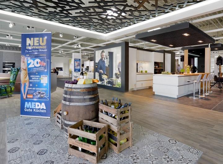 Ausstellungsbereich Küchenfachmarkt Giessen