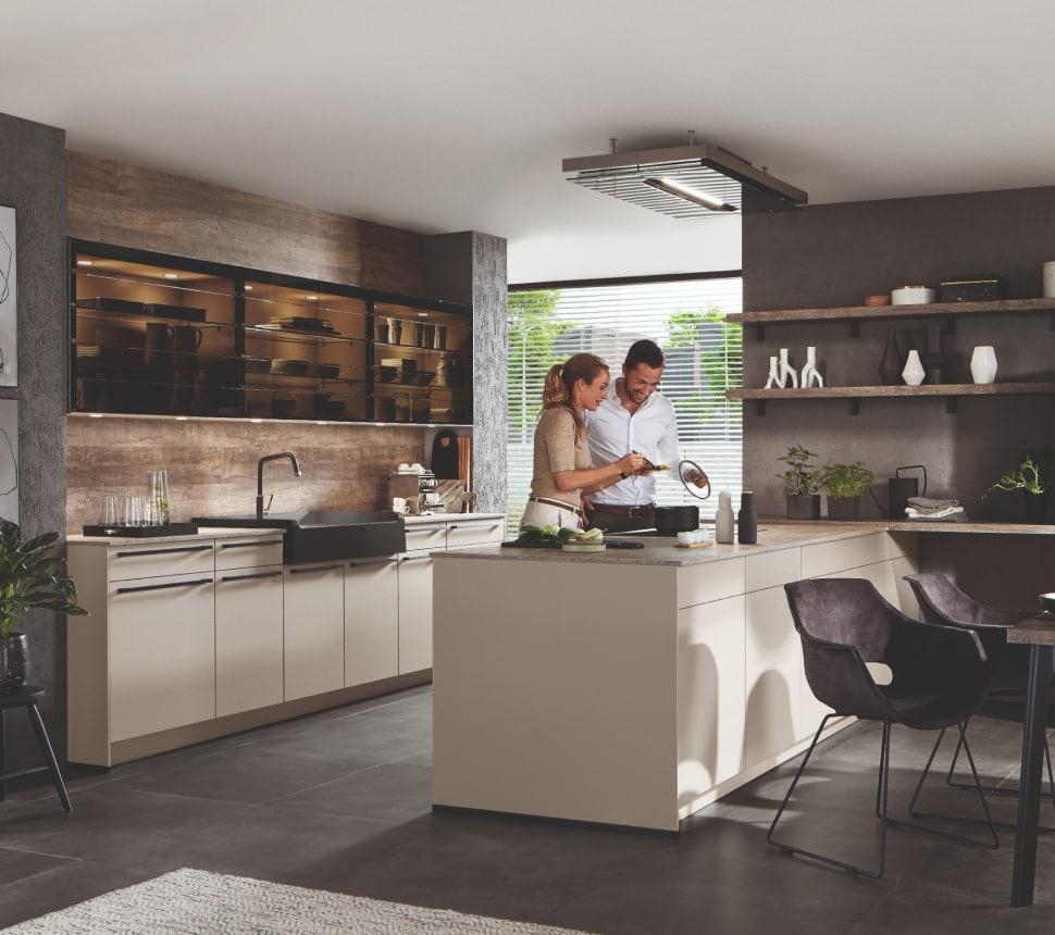 Braune Küche