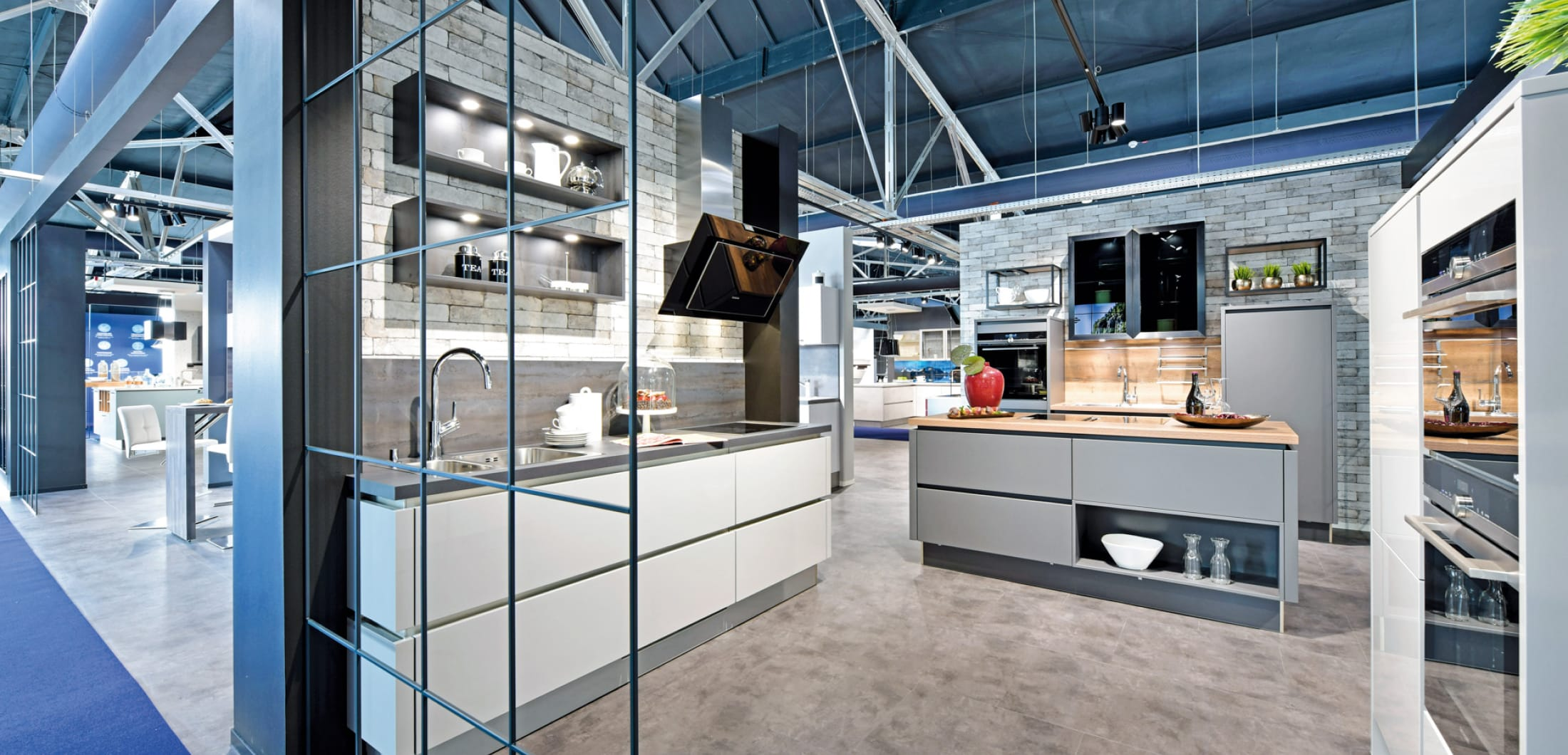Küchenzeile im Küchenstudio Schwelm