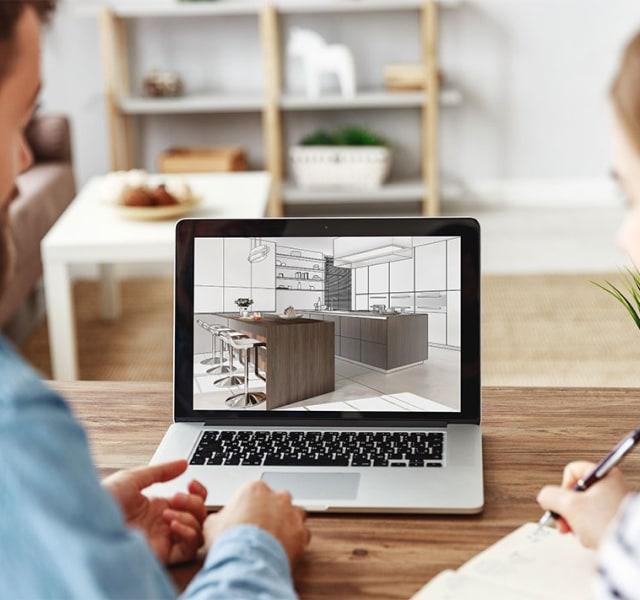 Küchenplanung und Küchenberatung per Video-Chat